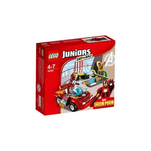 LEGO Juniors Marvel Super Heroes Iron Man vs. Loki 10721