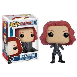 POP! Vinyl: Civil War Black Widow