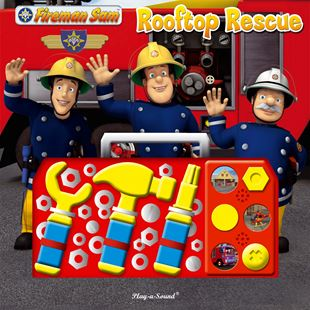 Fireman Sam Rooftop Rescue Tool Box Sound Book