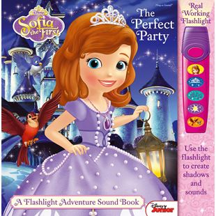 Disney Sofia the First The Perfect Party A Flashlight Adventure