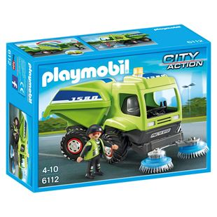 Playmobil City Action Street Cleaner 6112