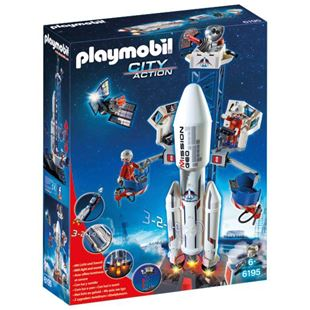 Playmobil City Action Space Rocket with Launch Site 6195