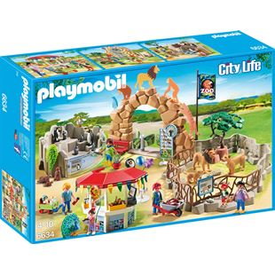 Playmobil City Life Large City Zoo 6634