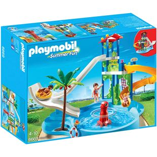Playmobil Summer Fun Water Park with Slides 6669