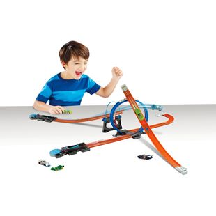Hot Wheels Track Builder Starter Kit Play Set