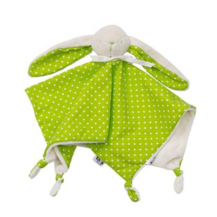 toTs by smarTrike Joy Bunny Comforter - Green