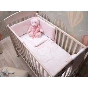 toTs by smarTrike Classic Jersey Pink Bedding Set