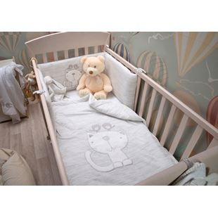 toTs by smarTrike Classic Jersey Grey Bedding Set