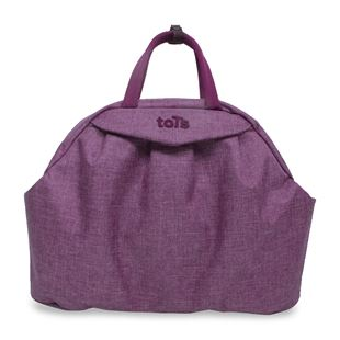 toTs by smarTrike Chic Purple Mélange Changing Bag