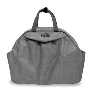 toTs by smarTrike Chic Grey Mélange Changing Bag
