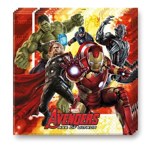 Avengers Age of Ultron Lunch Napkins 20 pack