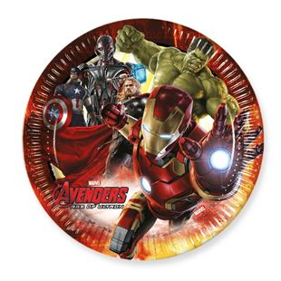 Avengers age of Ultron Paper Plate 8 Pack