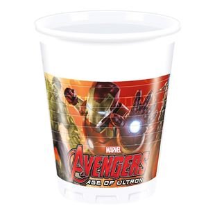 Avengers age of Ultron Plastic Cups (8 Pack)