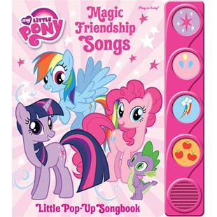 My Little Pony Little Magic Friendship Songs Pop - Up Songbook