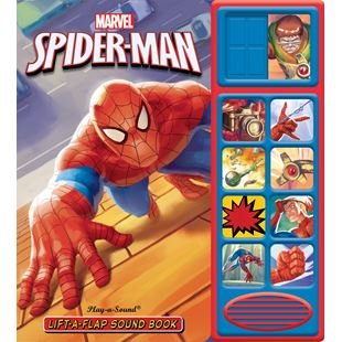 Marvel Spiderman Lift-A-Flap Sound Book