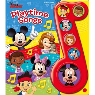 Disney Junior Playtime Songs Book