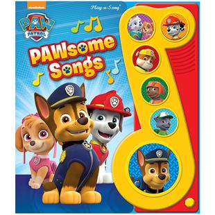 Nickelodeon Paw Patrol Pawsome Songs Book