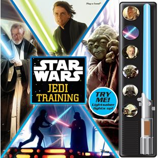 Disney Star Wars Jedi Training Play-a-Sound Book