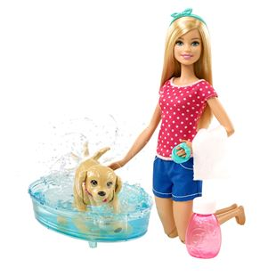 Barbie Splish Splash Doll and Pup