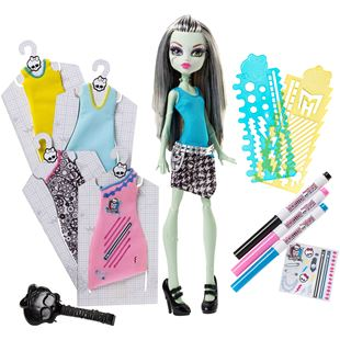 Monster High Designer Boo-Tique Frankie Stein Doll and Fashions