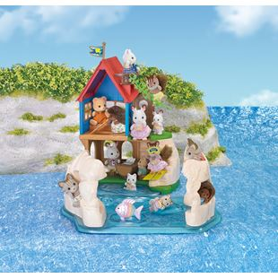 Sylvanian Families Secret Island Play House Set