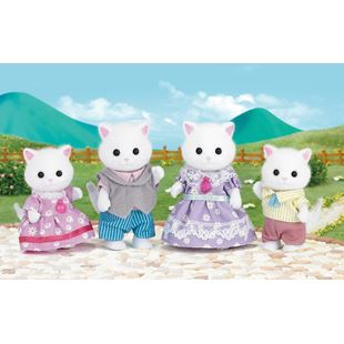 Sylvanian Families Persian Cat Family Set