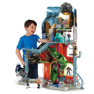 Teenage Mutant Ninja Turtles 2 City Sewer Lair Playset
