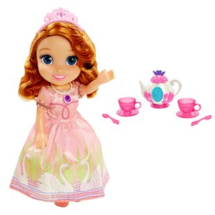 Disney Sofia the First Toddler Doll and Tea Set