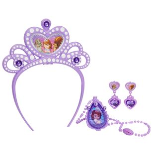 Disney Sofia the First Tiara and Amulet