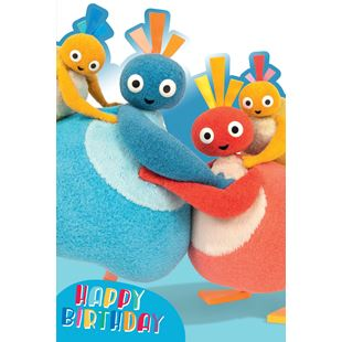 Twirly Woo's Favourite Birthday Card (No Age)