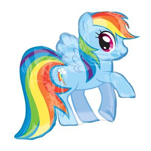 My Little Pony Rainbow Air Walker Foil Balloon