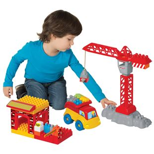 My First Construction Building Blocks Playset