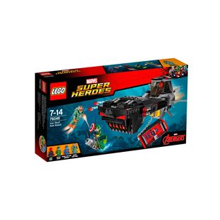LEGO Marvel Super Heroes Iron Skull Sub Attack 76048
