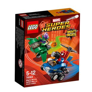 LEGO Marvel Super Heroes Mighty Micros: Spider-Man vs. Green Goblin 76064