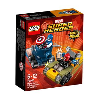 LEGO Marvel Super Heroes Mighty Micros: Captain America vs. Red Skull 76065