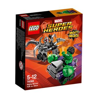 LEGO Marvel Super Heroes Mighty Micros: Hulk vs. Ultron 76066