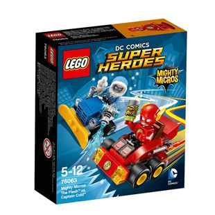 LEGO DC Super Heroes Mighty Micros: The Flash vs. Captain Cold 76063