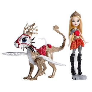 Ever After High Apple White Dragon Rider