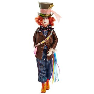 Disney Alice Through the Looking Glass Mad Hatter Adventure Hero Doll