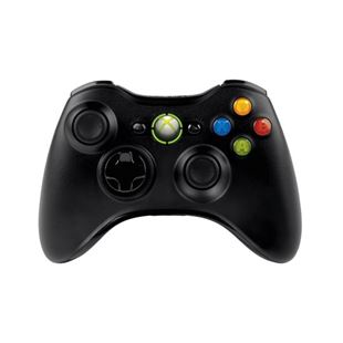 Xbox 360 New Wireless Controller Black for Windows 10