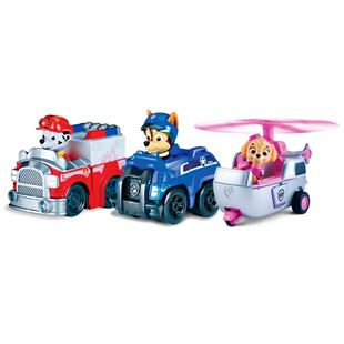 Paw Patrol Racers Team Chase, Marshall and Skye Pack