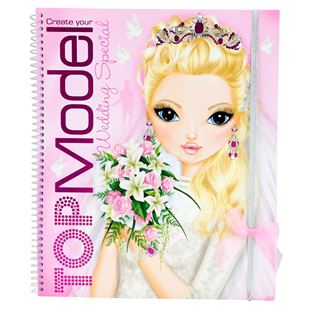 Create your Wedding TOP Model Wedding Special Colouring Book