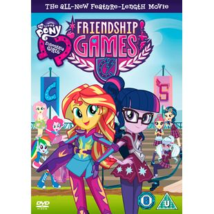 "My Little Pony Equestria Girls ""Friendship Games"" DVD"