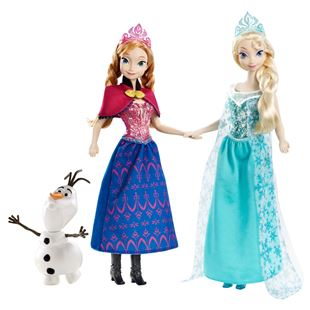Disney Frozen Musical Magical Doll Gift Set