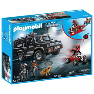 Playmobil Tactical Police Club Set