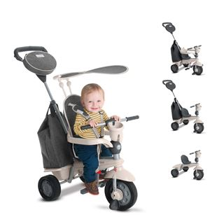 SmarTrike Voyage Dark Grey 4 in 1 Tricycle