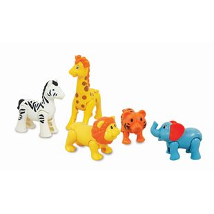 Safari Kingdom Animal Figures