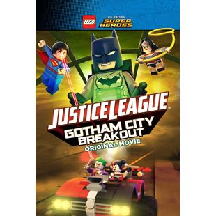 Justice League Gotham City Breakout Original Movie