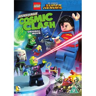 LEGO DC Justice League Cosmic Clash DVD
