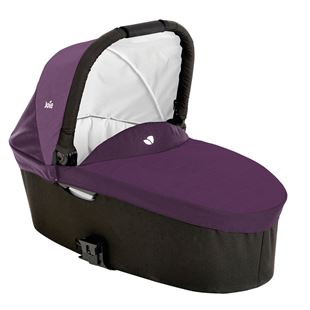 Joie Chrome Grape Carrycot
